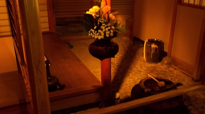 嵯峨野 - 内観写真:本館 団体専用玄関より