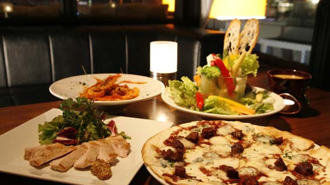 マーサーカフェテラスハウス - 料理写真:トリュフやフォアグラなど厳選された食材を使ったニューヨークイタリアン