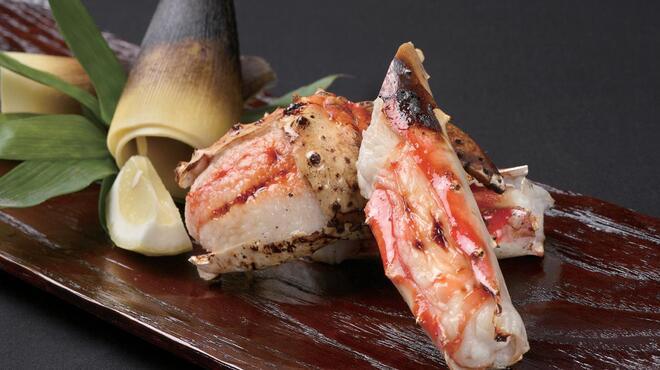蟹工船 - 料理写真:たらば焼蟹