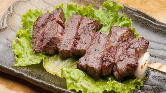 たん右衛門 - 料理写真:牛さがり~黒牛の横隔膜