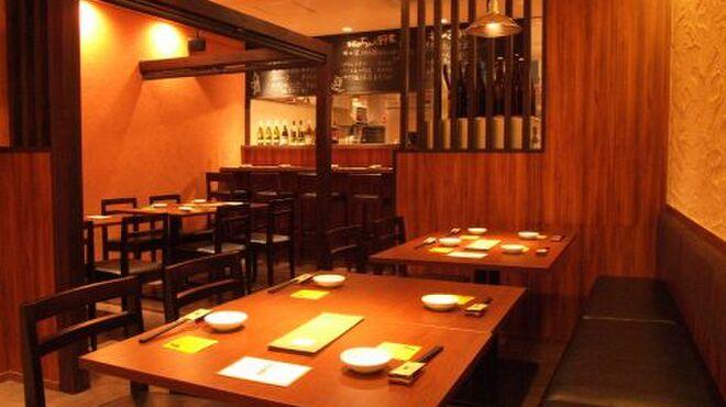 朝日屋 - 内観写真:店内には、テーブル席に加えて、半個室もあります、歓迎会には貸切もできちゃいます!!