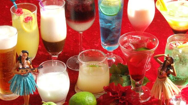 Hona Cafe - 料理写真:可愛いグラスでご提供します♪そして、種類も豊富☆