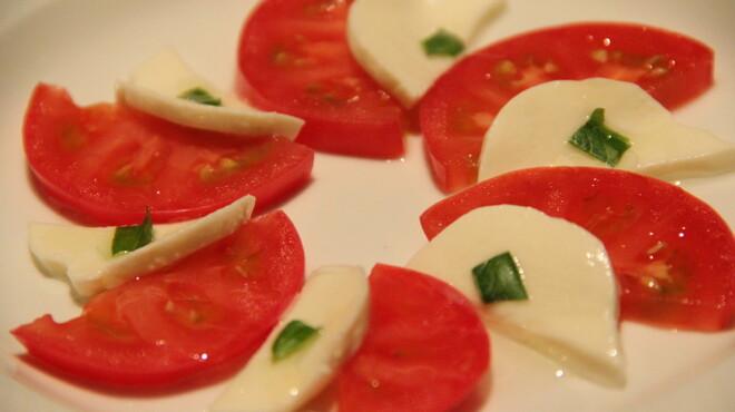 ガーデン - 料理写真:フルーツトマトのカプレーゼ