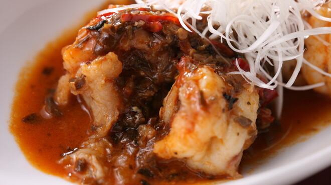 COTA - 料理写真:大海老のチリソース煮込み(成都式)