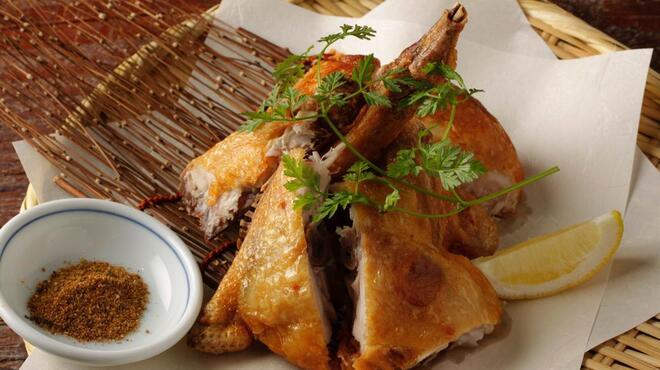 丸鶏 るいすけ - 料理写真:丸鶏の素揚げ