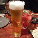 極ダイニング清水 - 「乾杯~!」