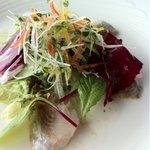 銀座スカイラウンジ - ランチ 前菜