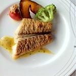 銀座スカイラウンジ - ランチ 魚料理