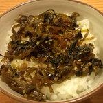 銀座 吉宗 - 高菜めし