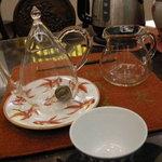 清芳春 - まだ丸い茶葉