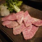 焼肉 清花堂 - 料理写真:幻の稀少部位!ミスジ ¥1800