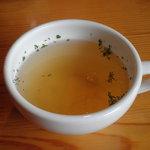 南太平洋 - ランチのスープ
