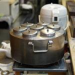 万よし - 熱燗の鍋