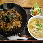 中華四川料理 もりた - スタミナ丼セット