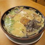 鹿児島ラーメン豚とろ - 豚とろラーメン750円