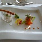 潮騒 - 冬のランチ、前菜