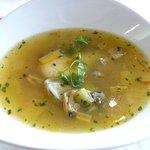 潮騒 - 冬のランチ、牡蠣のスープ