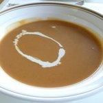潮騒 - 冬のランチ、海老のスープ