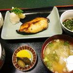 松ノ木 - 銀たら定食