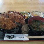 きなせ亭 - 鯨ソースカツ丼 特盛(900円)