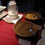 レストラン マエストロ - 朝食ブッフェのシリアル