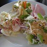 レストラン マエストロ - 朝食ブッフェのサラダ