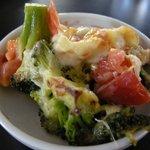 レストラン マエストロ - 朝食ブッフェのグラタン