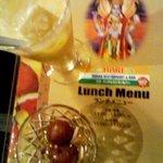 ハリ インドレストラン&バー - マンゴーラッシーです。