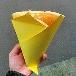 クレープハウスCIRCUS - ハニーバター(バニラアイストッピング)