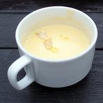青いナポリ - かぼちゃのスープ