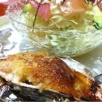 連 - 牡蠣のマヨ焼き!んまいです