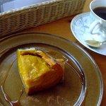 カフェ&レストラン バーチ - スイートぼっちゃんカボチャ、旨い、満腹感よし
