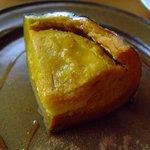 カフェ&レストラン バーチ - スイートぼっちゃんかぼちゃ、手間のかかるお菓子です