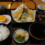藪 - 天ぷら定食