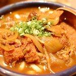 麺むすび - 料理写真:とんかつカレーうどん