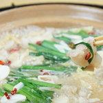 新八 - 冬の定番もつ鍋!新鮮国産牛もつ使用のこだわり鍋、選べる2色!