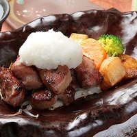 必食!イベリコ豚のステーキ