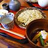 そば 江幡や - 料理写真:ざる蕎麦と豆腐と野菜の揚げ出しのせっと:1580円