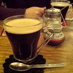 金魚CAFE - ホットコーヒー 400円