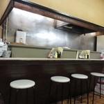 けやき食堂 - シンプルな店内