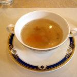ラ・セール - ランチのスープ