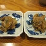 幸寿し - 牡蠣の燻製