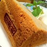 salon de thé Un Gâteau - シフォンケーキ マロン