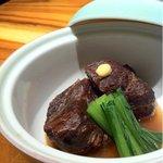 ハチイチ レストラン - 葡萄牛の頬肉 赤ワイン煮