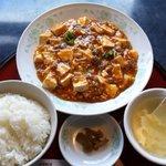 中村 - 料理写真:マーボー定食