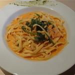 カフェ アッコ - 本日のランチ:サラダ・自家製ローズマリー風フォカッチャ・ミニスープ・ドリンク付=¥1,350