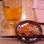 10267420 - センマイ刺と生ビール