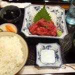マックモア - なかおち定食(980円)