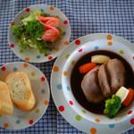 レストラン ザ・マベリック - 【やわらか牛タンシチュー】※写真はサンプル用。実際は牛タンがやわらかーく煮込まれています。