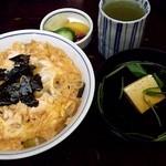神田まつや - 料理写真:親子丼